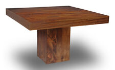 DAKOTA MANGO CUBE DINING TABLE 120CM SQUARE (32N)