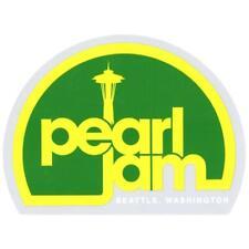 "Pearl Jam Seattle Sticker Music Rock Band 4.5"""