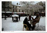 PARIS Postkarte Frankreich France Carte Postale Place du Tertre, Kneipen, color