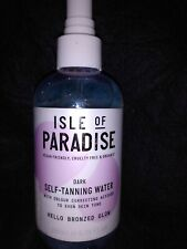 Isle of Paradise Self-Tanning Water Dark Bronzed Glow New Full Size