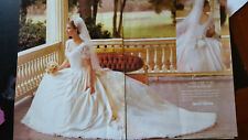 Vintage 1997 Wedding Gown David's Bridal sz2 Perfect Condition w/shoes Preserved