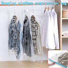 Foldable Hanging Compression-Vacuum Bag Clothes Dust Cover Storage Sea T'UK