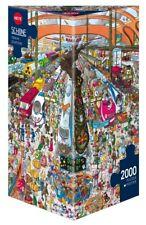 HY29730 - Heye Puzzles - Triangular , 2 000 Pc - Train Station, Schone