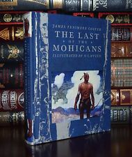 The Last of the Mohicans by Cooper Illustrated by Wyeth New Deluxe Hardcover Ed.