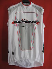 Maillot cycliste LOOK Pro team Carbon Sans Manche Blanc - XXL