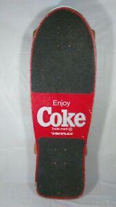 Vintage Coke Coca Cola Variflex Skateboard Max Headroom VG cond
