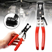 UK 45° Angled Car Water Pipe Hose Clip Plier Clamp Swivel Drive Jaw Locking Tool