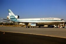Original 35mm Colour Slide of TIA-Trans International DC-10-30 N101TV