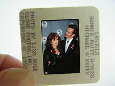 More details for original press photo slide negative - bonnie raitt & michael o'keefe - 1993