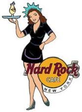Hard Rock Cafe NEW YORK 2003 GIRL of ROCK SERIES PIN GOR #2 Black Uniform HRC