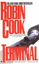 TERMINAL Robin Cook 1996 Paperback Book Medical Mystery Action Thriller Unread