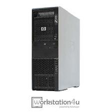 HP Z600 Workstation EXTREM PC 2x Xeon X5672 24GB RAM FirePro V7900 1TB HDD W10