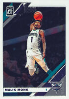 Malik Monk 2019-20 Panini Donruss Optic Chrome Base Card #14 Charlotte Hornets