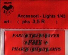 Accessori 1/43 FARI ROSSI 3,5mm  TRON   PHS35R