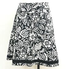 NorthStyle Womens Skirt Size 12 Black/White