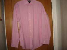 "Polo by Ralph Lauren Para hombres camisa rosa, cuello, pecho 46"",G.C 16,34/35"