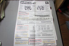 Caterpillar 3406 Engine Maintenance Tips Poster With Other 3406 Checklists.