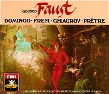 Gounod: Faust Complete Opera ; Domingo, Freni, Ghiaurov, Allen, Pretre EXCELLENT