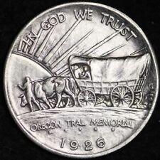 1926-S Oregon Trail Memorial Half Dollar CHOICE BU FREE SHIPPING E380 GCCT