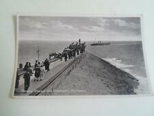 PORTHCAWL Pleasure Stamer+Breakwater Vintage Animated Postcard 1931 §A1933