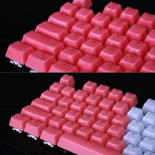 PBT Double Pudding Keycaps 104 Keys Mechanical Keycaps Set Gaming Keyboard Gift