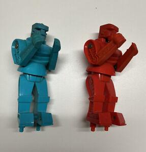 Rockem Sockem Blue Bomber Red Rocker Boxing Robots Replacement Parts Mattel