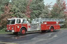 Westminster MA Ladder 1 1986 Maxim 100' Mid Mount Aerial - Fire Apparatus Slide