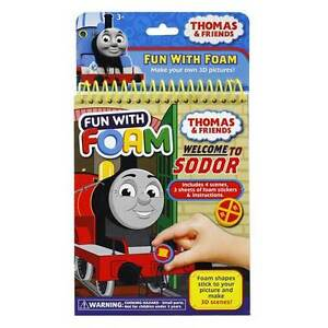 NEW THOMAS THE TANK ENGINE THOMAS AND FRIENDS FOAM PLAYSET BOOK