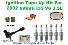 Ignition Tune Up For 2002 Infiniti I35 V6 Ignition Coil, OES Laser Plat Spark Pl