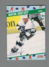 1990-91 Score N.C.W.A #1 Wayne Gretzky