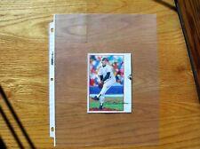 Orel Hershiser 1990 Post Cereal Poster Cut Art not Photo Mint Oddball