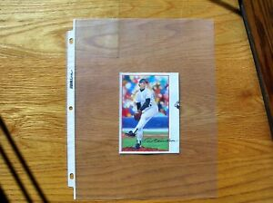 Orel Hershiser 1990 Post Cereal Poster Cut Art not Photo Mint Oddball