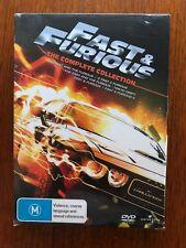 Fast & Furious 1 - 5 DVD Region 4 New & Sealed