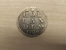 Niederlande - 2 Stuiver Silber 1724 - Province Holland Hollandia (2)