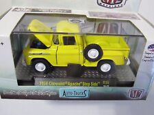 M2 MACHINES AUTO TRUCKS R38 1958 CHEVROLET APACHE STEP SIDE