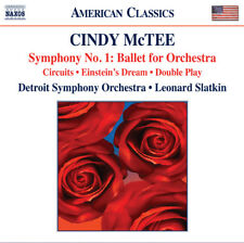 Cindy McTee : Cindy McTee: Symphony No. 1: Ballet for Orchestra CD (2013)