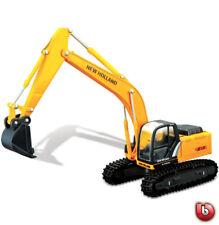 BBURAGO 1/50 NEW HOLLAND E215C Construcción Camión #32082