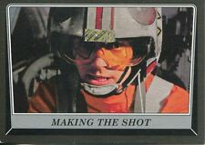 Star Wars Rogue One Mission Briefing Black Base Card #65 Making the Shot