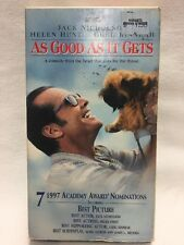 AS GOOD AS IT GETS * Jack Nicholson, Helen Hunt -- More VHS in Store, Rare & OOP
