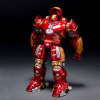1PCS Marvel Avengers Ultron Iron Man Hulk Buster Collection Model Toys Figures