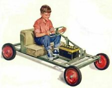 Vintage Mini-Vehicle Plans super collection go-karts, horseless carriage, midget