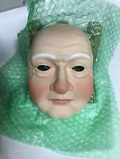 Lot of 5 Porcelain Doll Mask - Santa Claus - Mrs Claus Premier Porcelainish
