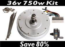 BMC 750W REAR Conversion Kit High Performance Geared Hub Motor E-Bike 36V + MORE