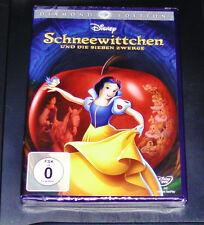 SCHNEEWITTCHEN UND DIE SIEBEN ZWERGE WALT DISNEY DIAMOND EDITION DVD NEU & OVP