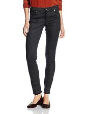 Versace Jeans women's black coated jeans size 30 - SKINNY & STRETCHY