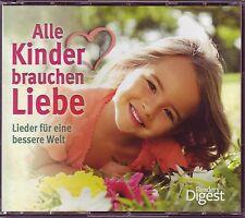Tous les enfants ont besoin d'amour-Reader 's Digest 5 CD BOX NEUF dans sa boîte