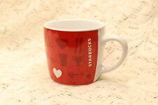 Starbucks Tea Espresso Cup Red 7.8 Ounces