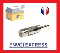 Fiche Antenne ISO Autoradio CHRYSLER DACIA PEUGEOT OPEL FORD bmw