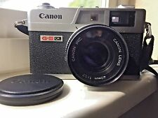 Canon Canonet QL17 GIII 35mm w/Canon 40mm 1:1.7 lens Rangefinder MINT condition