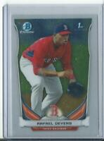 2014 Bowman Chrome 1st Rafael Devers #CTP-37 Red Sox